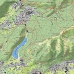 Lago del segrino - mappa