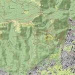 Buco del Piombo - Mappa