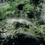 Stillicidio d'acqua sulle rocce della Valle Bova