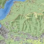 Il Torrente Cosia - Mappa