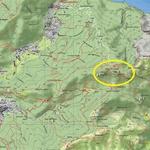 I corni di Canzo e la Val Ravella - Mappa