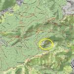 Il Sasso Malascarpa - Mappa