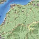 I Massi Erratici e gli Avelli di Torno - Mappa