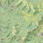 Il Pian del Tivano - Mappa