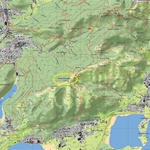 Il Monte Cornizzolo - Mappa