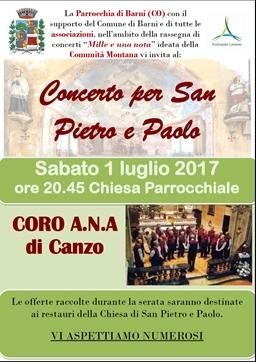 01 07 2017 barni concerto coro alpini di canzo