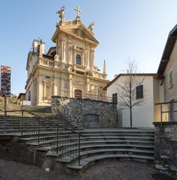 chiesa di sant'andrea brunate