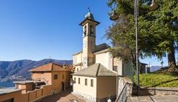 chiesa di san giorgio lemna faggeto lario