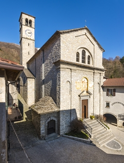 chiesa di sant'ambrogio palanzo faggeto lario