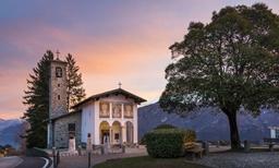 chiesa della madonna del ghisallo magreglio