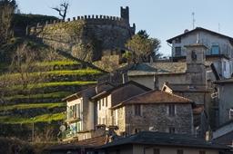 castello di san lorenzo nesso