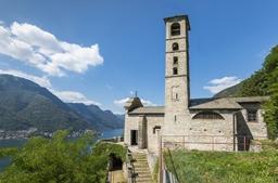 chiesa di san rocco canzaga pognana lario