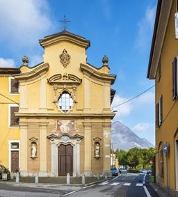 chiesa di san bernardo lezza pontelambro