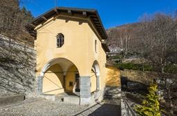 chiesa del santo crocifisso del lavello sormano