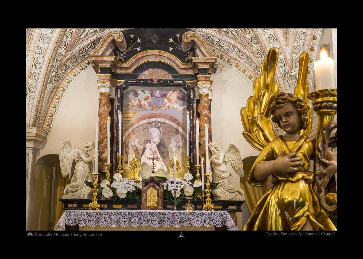 Caglio - Santuario Madonna di Campoè