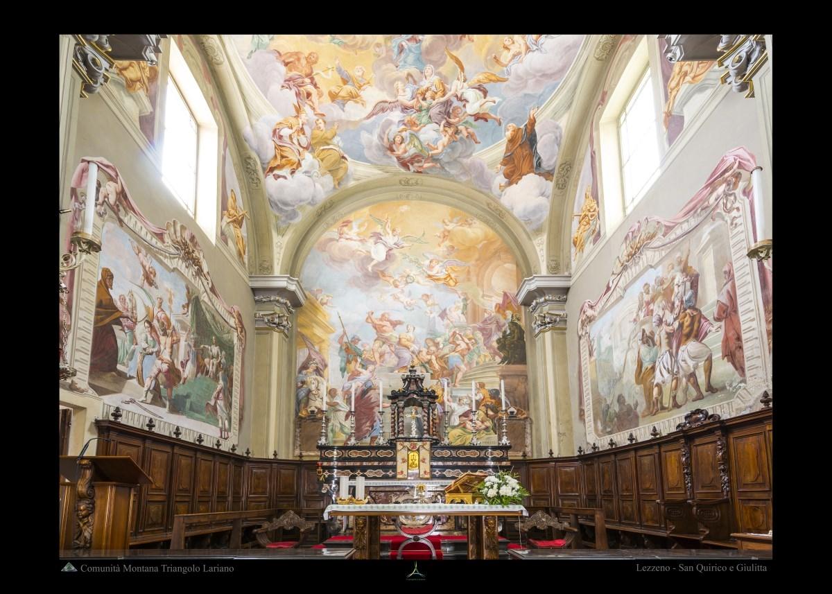 Lezzeno - San Quirico e Giulitta - Interno
