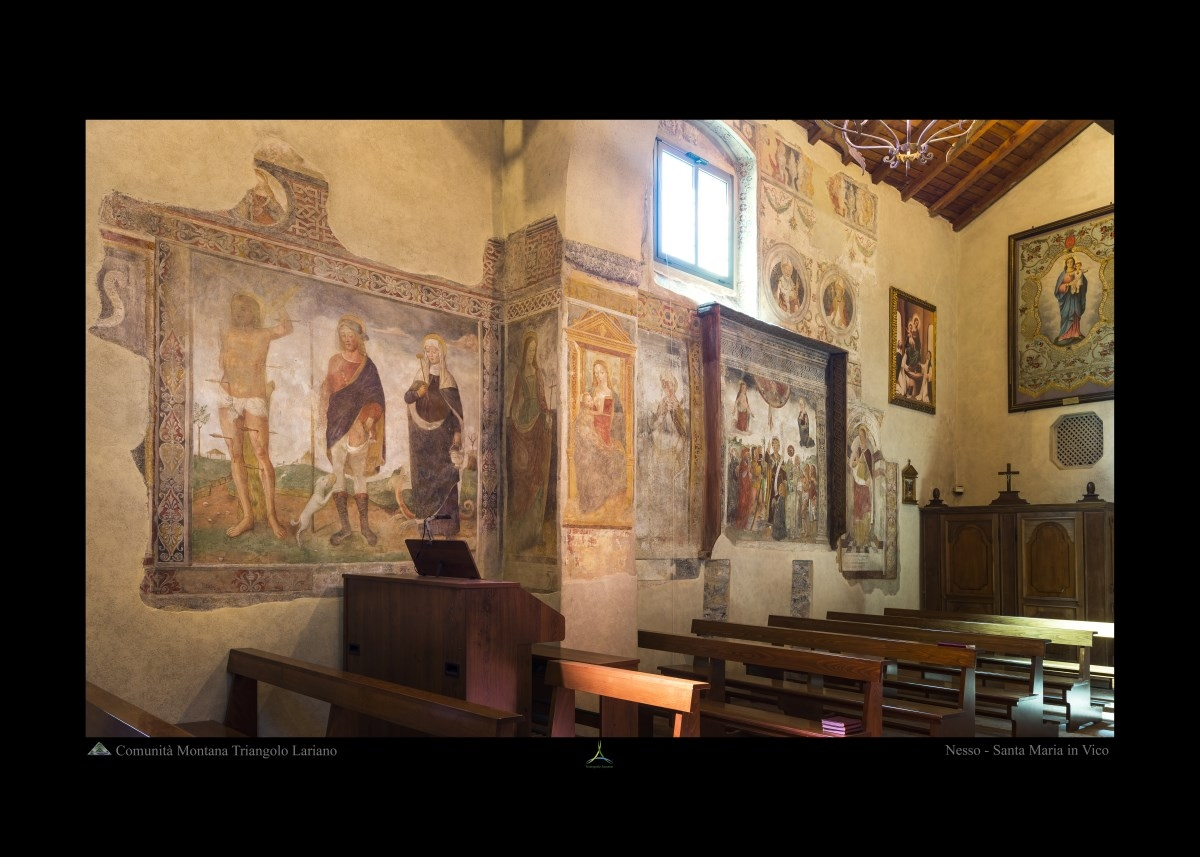Nesso - Santa Maria in Vico - Interno