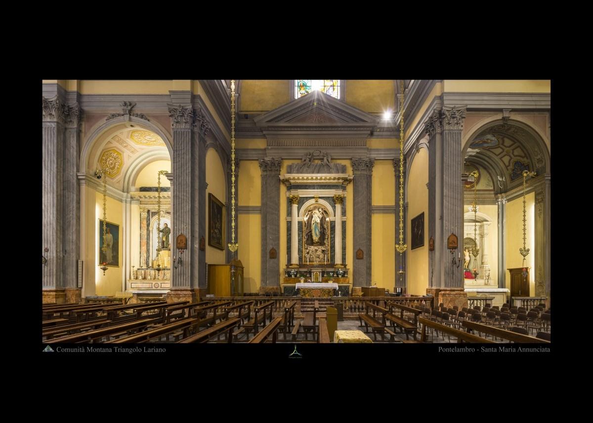Pontelambro - Santa Maria Annunciata - Interno