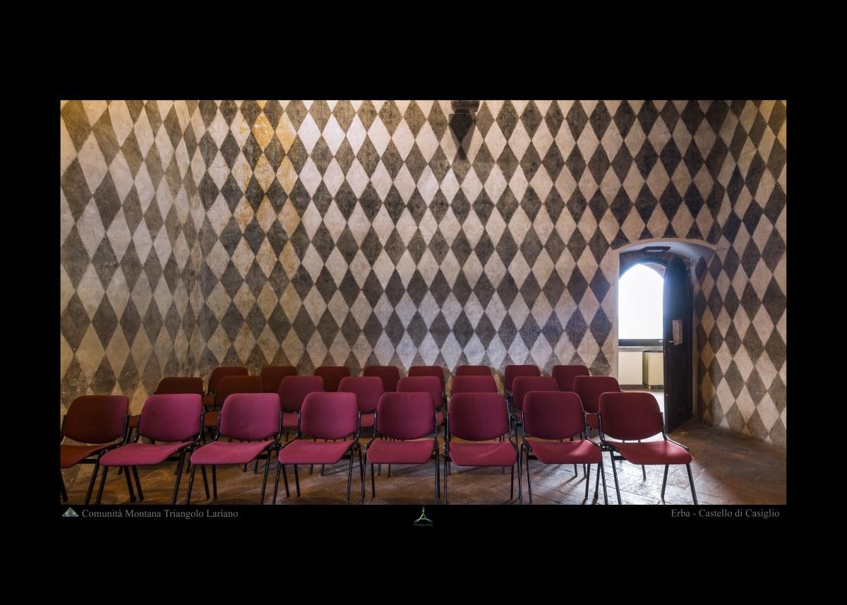 Erba - Castello di Casiglio - Interno