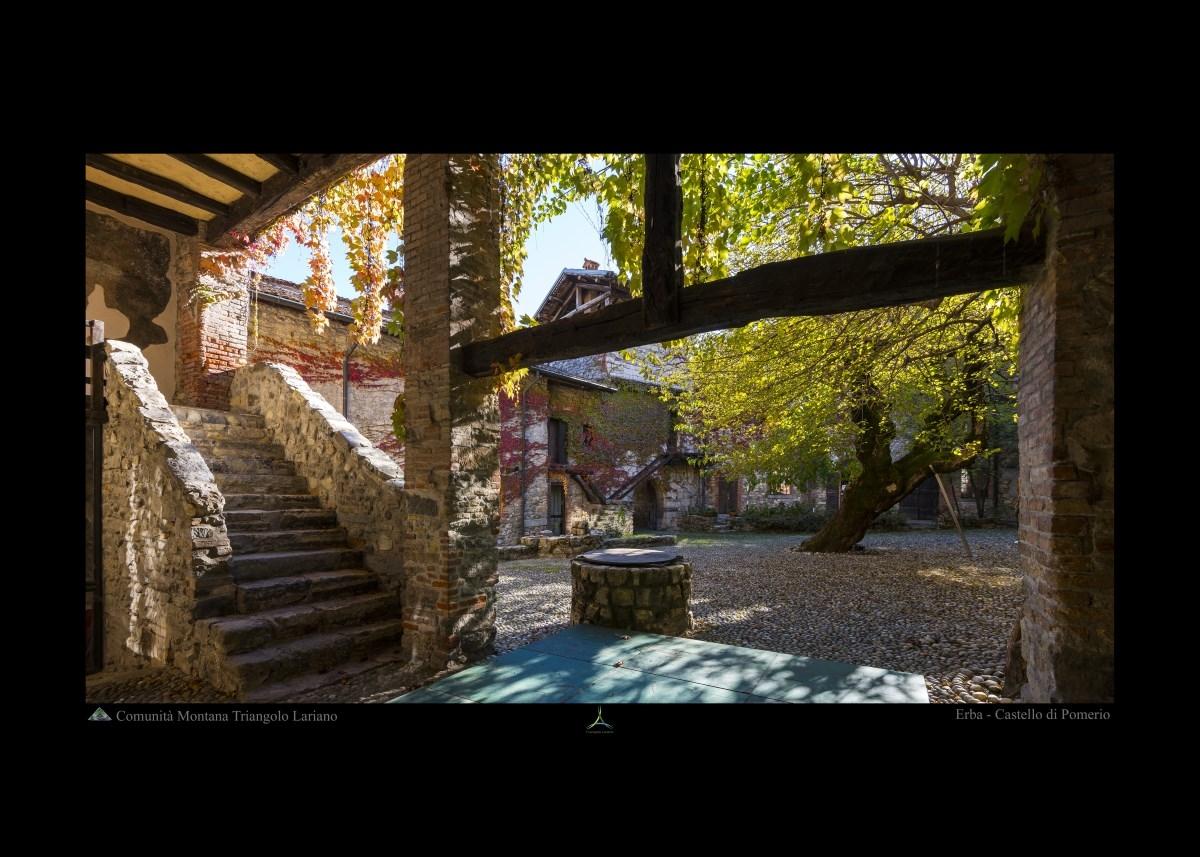 Erba - Castello di Pomerio