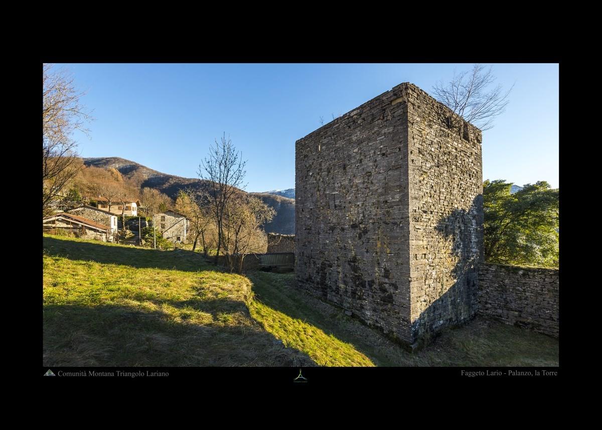 Faggeto Lario - Palanzo, la Torre