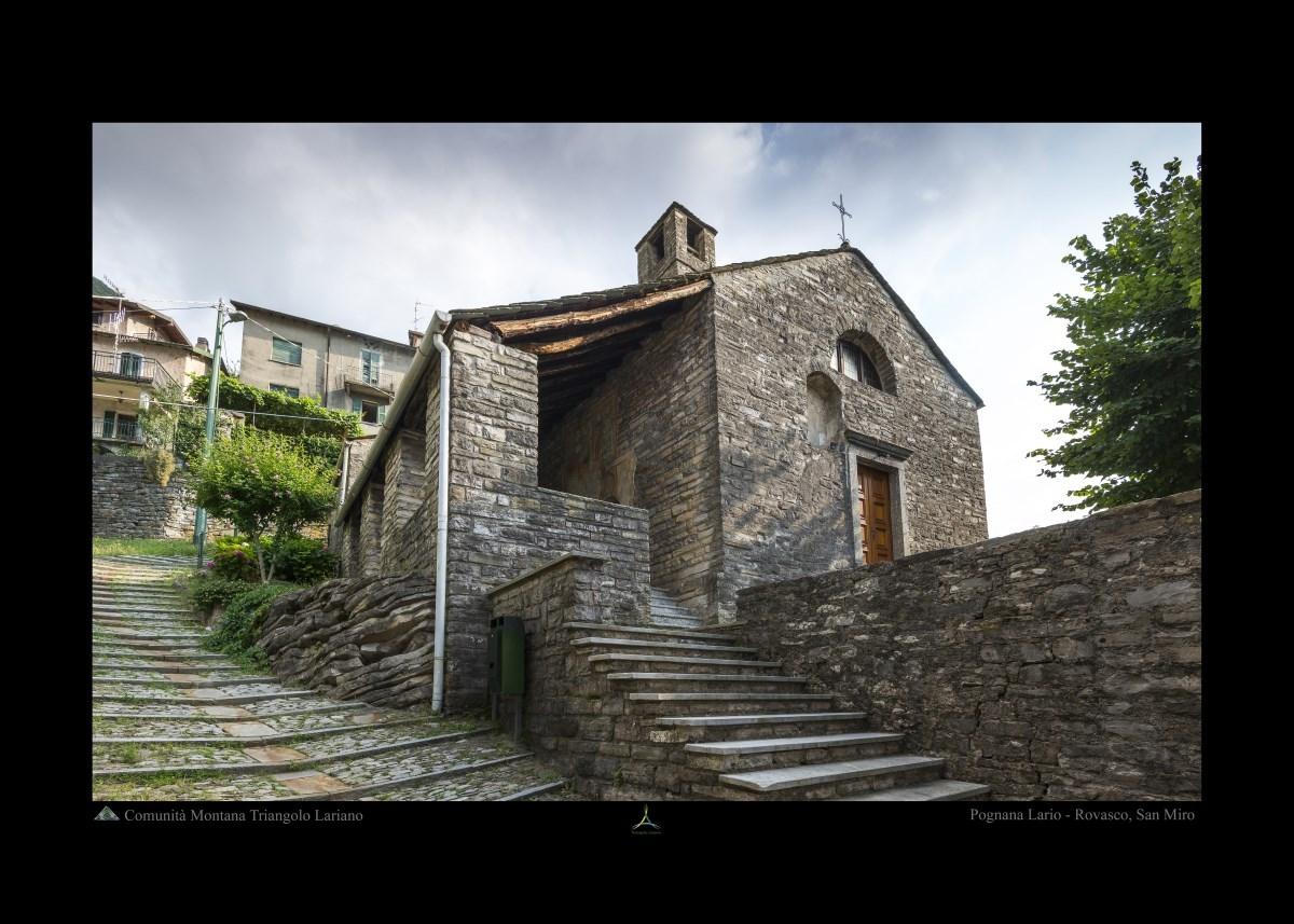 Pognana Lario - Rovasco, San Miro