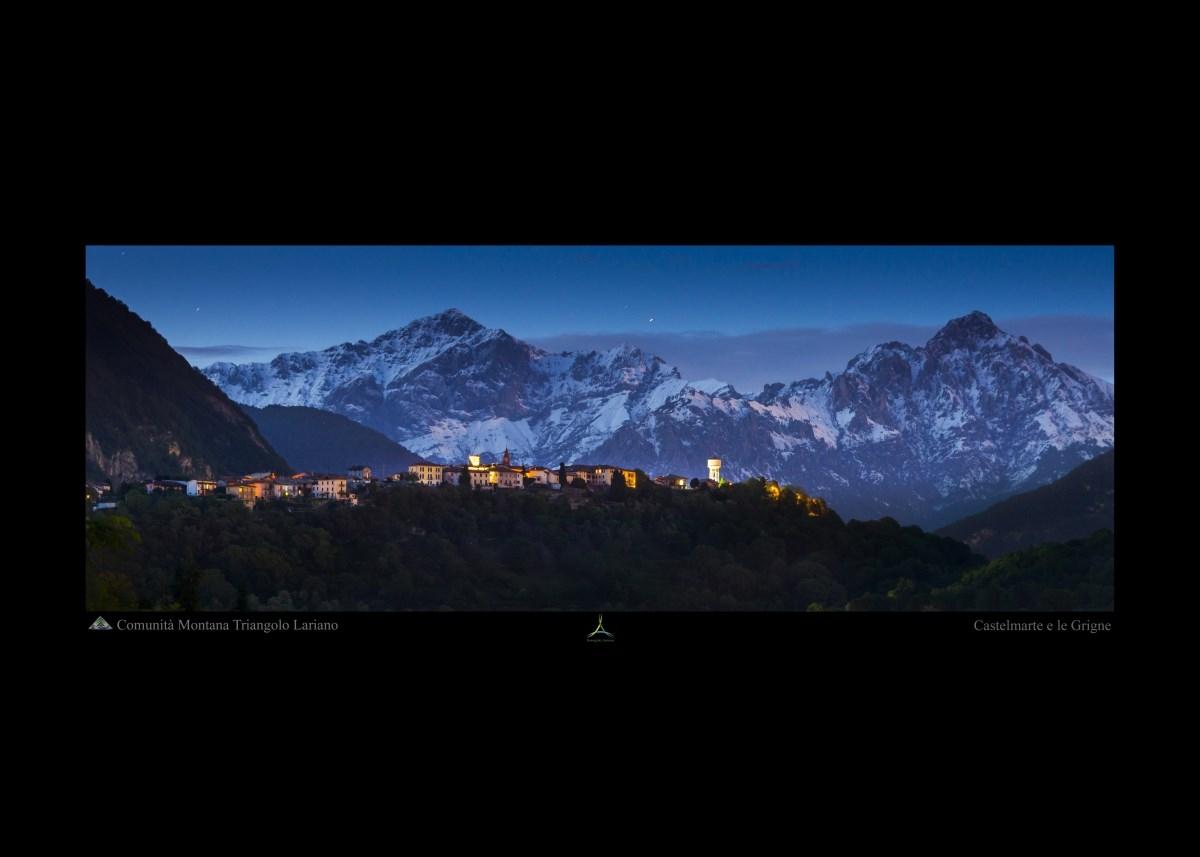 Castelmarte e le Grigne