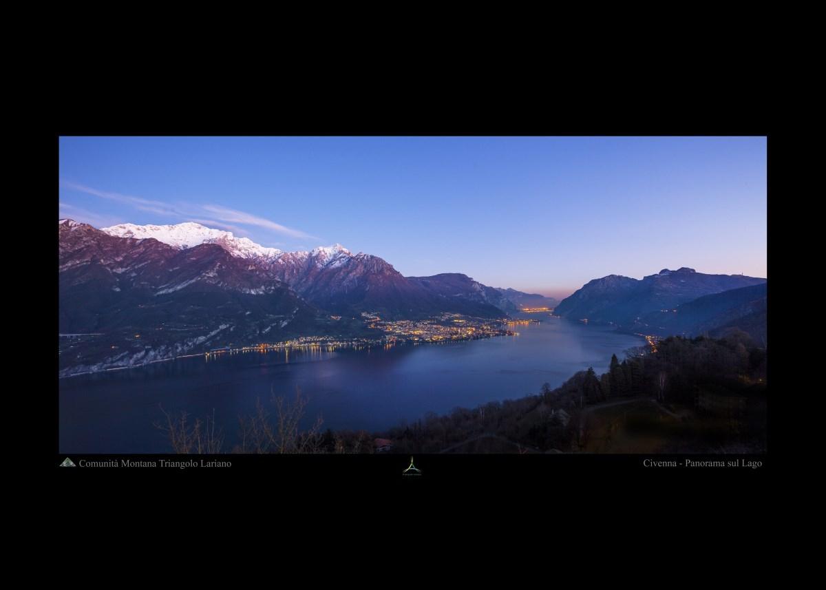 Civenna - Panorama sul lago
