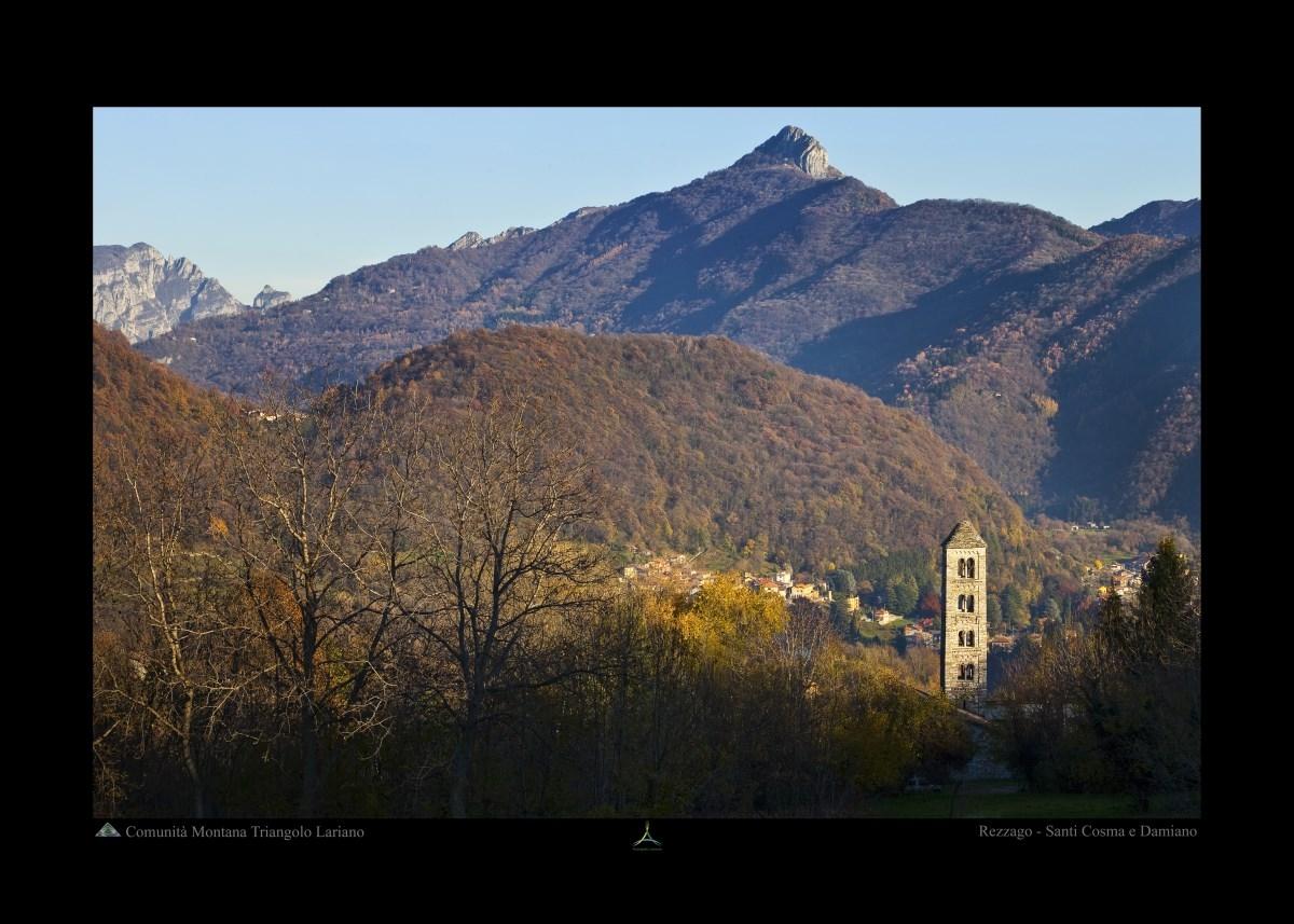 Rezzago - Santi Cosma e Damiano - Panorama