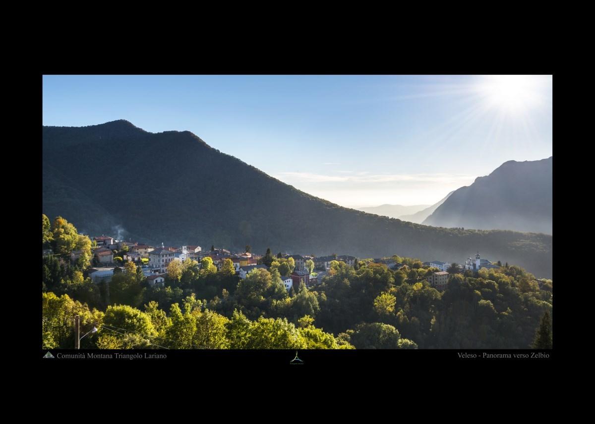 Veleso - Panorama verso Zelbio